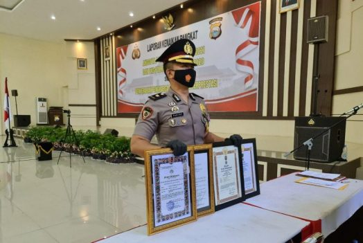 Kompol Fantry Taherong Borong Penghargaan Presiden, Kapolri dan Kapolda
