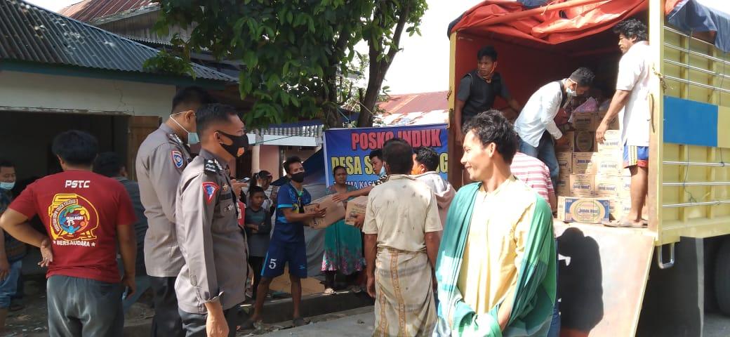 Peduli Sesama, HST Family Salurkan Bantuan ke Sulbar