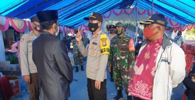 Polisi Bubarkan Pesta Nikah di Simpang RayaBanggai