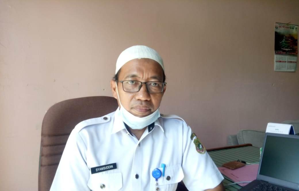 Kepala Bidang (Kabid) Guru dan Tenaga Kependidikan Disdikbud Sidrap, Syamsuddin.